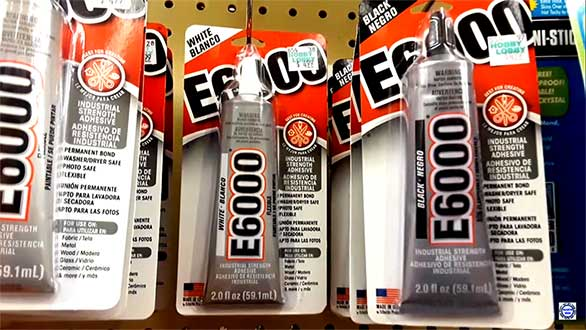 best adhesive for cell phone repair E6000