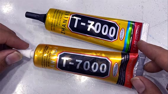 best adhesive for cell phone repair T7000