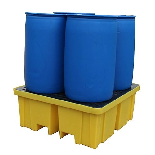 Extra Large 4 Drum Spill Pallet