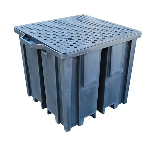Recycled IBC Spill Pallet (With 4-Way FLT Access) -