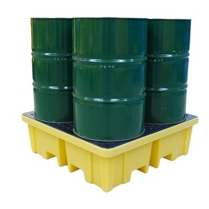 Drum Spill Pallet with 4 Way Access