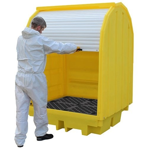 Hard Covered Spill pallets