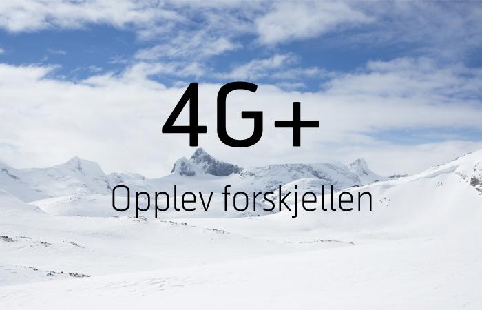 Telenor gir deg rekordrask 4G+