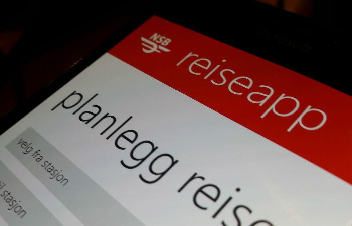 NSB-app forsvinner fra Windows Phone