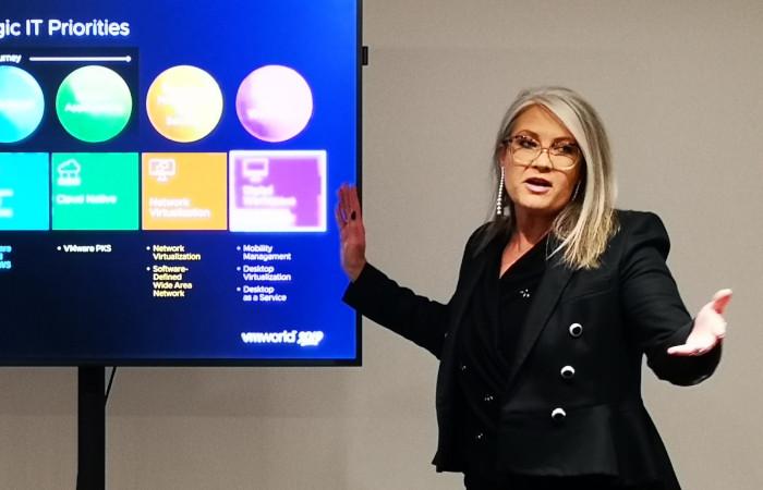 VMworld 2019 – Jenni Flinders om partnerprogrammet