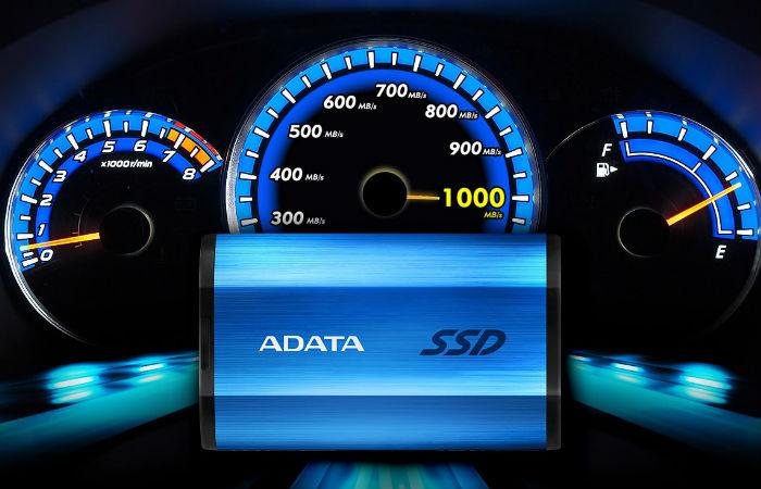 Miniomtale: To eksterne SSD-er fra ADATA