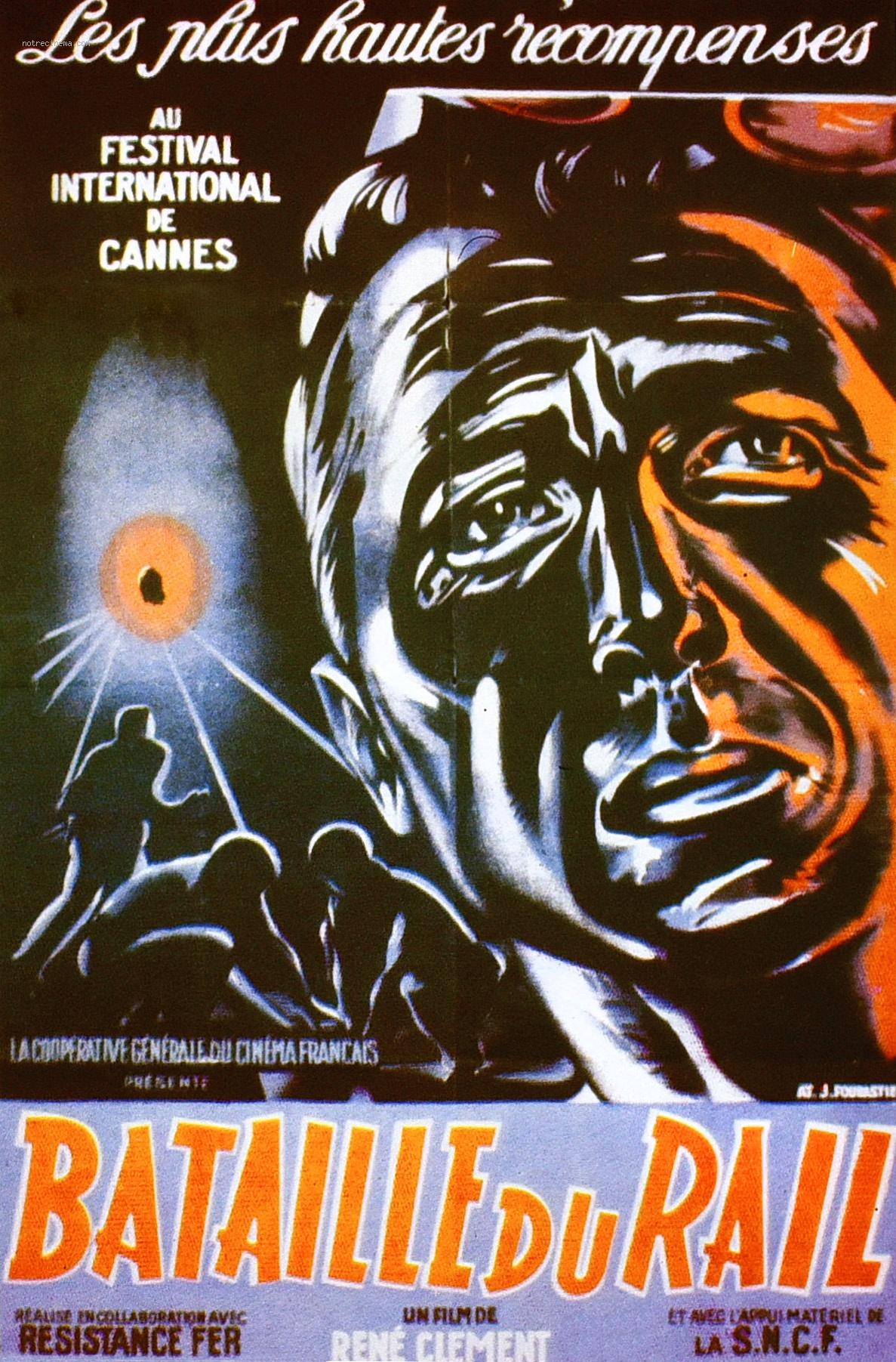 Film La Bataille Du Rail : bataille, Bataille, Battle, Rails,, France, 1946), Global