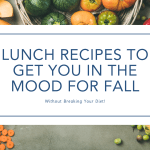 itrackbites fall lunch recipes
