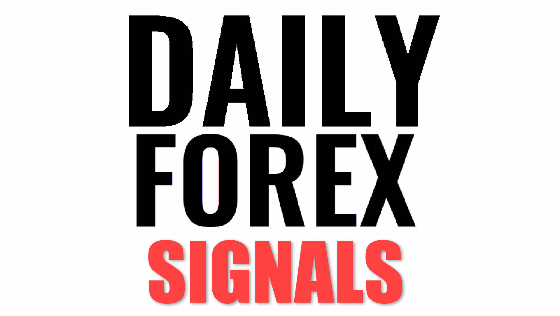 FREE daily forex signals