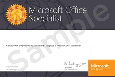 mos certificate itraining