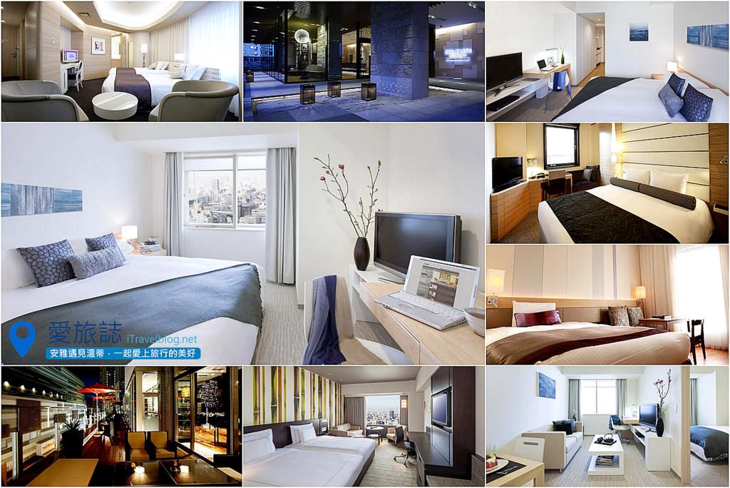 《大阪訂房筆記》2010-2014年24間全新開業酒店總整理