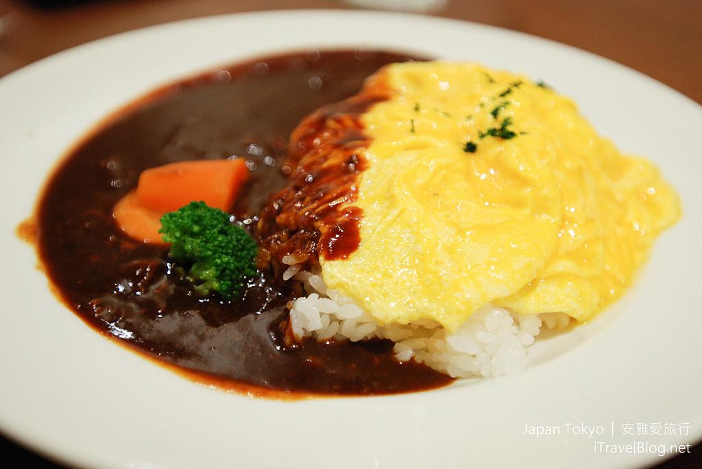 《東京美食餐廳》洋食一番街!超美味日式咖哩蛋包飯。 | 愛旅誌