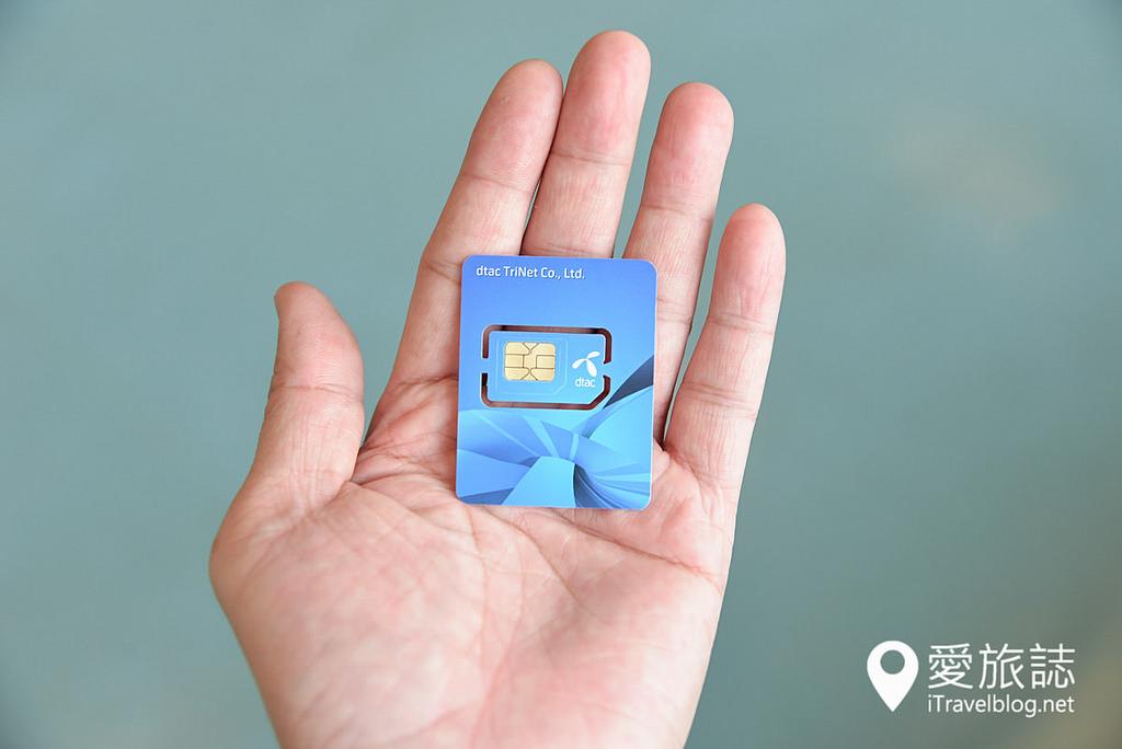 《泰國行動上網實戰篇》遠傳泰國遠遊卡攻略與使用心得:DTAC SIM卡,免護照、免排隊的免開通預付卡。