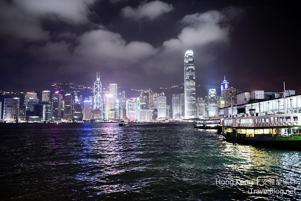 《香港景點推薦》幻彩詠香江:搭乘天星小輪盡覽世界著名香港夜景維多利亞港。(Victoria Harbour) | 愛旅誌