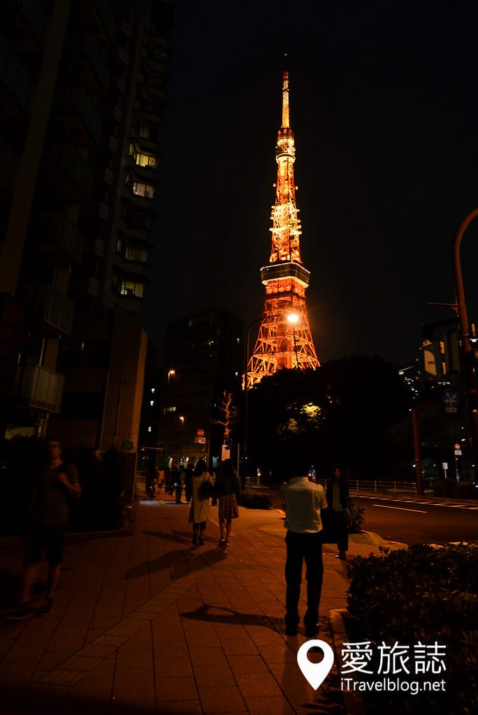 《東京景點推薦》東京鐵塔 Tokyo Tower:東京經典夜景,同場加映高空驚魂健行記