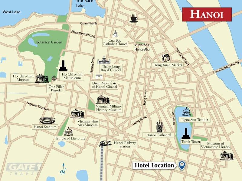 《河內飯店推薦》蘭比恩酒店:星巴克共構的星級酒店