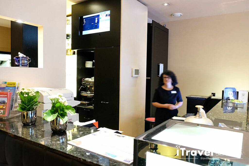 《法蘭克福飯店推薦》Concorde Hotel:中央車站康科德酒店