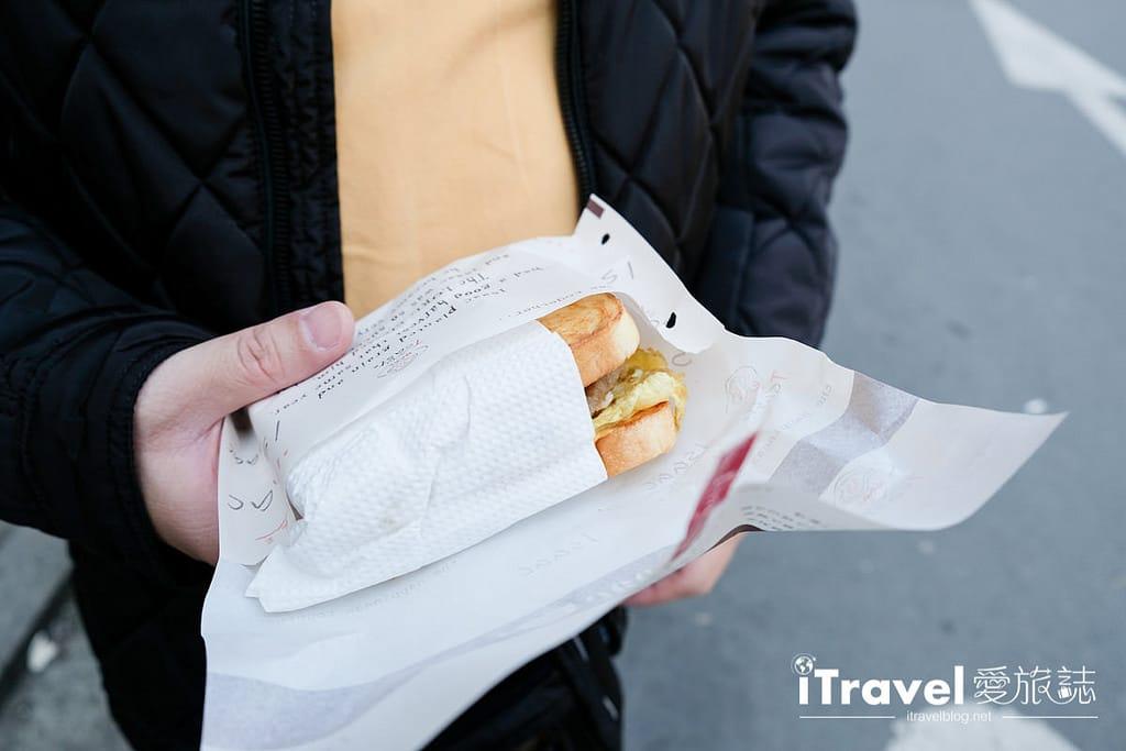 《首爾早餐推薦》Isaac Toast &Coffee:廣藏市場免排隊分店