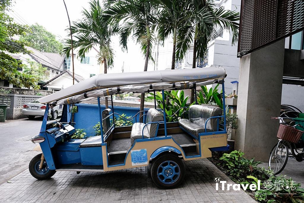 《曼谷飯店推薦》Tints of Blue:阿索克站房型多元的湛藍酒店
