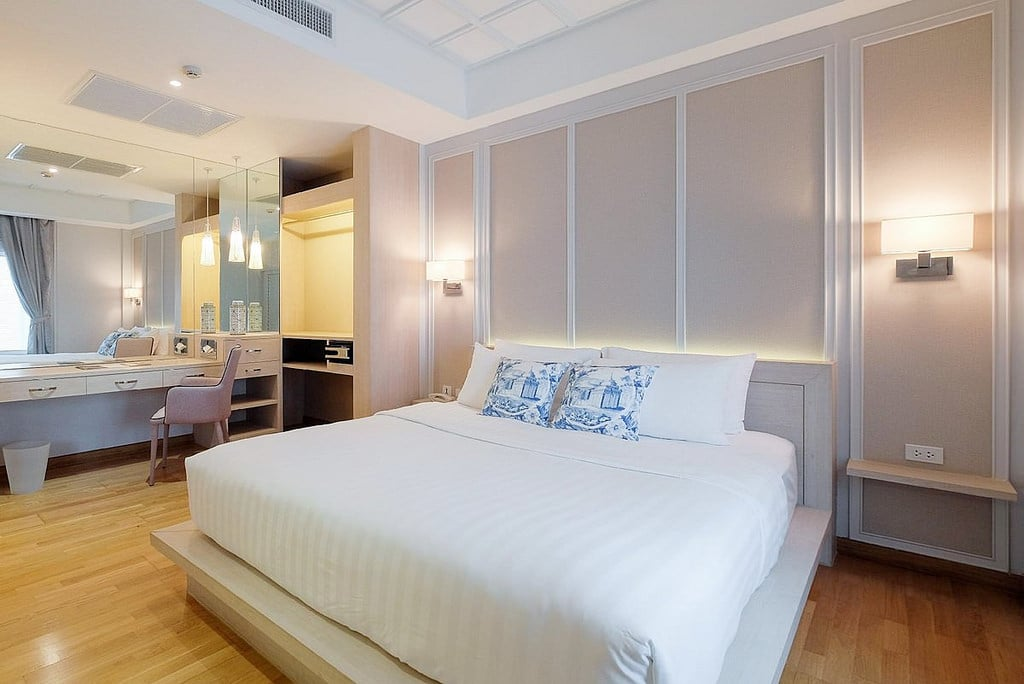 《曼谷平價飯店》K Maison Boutique Hotel:舒適質感設計旅店