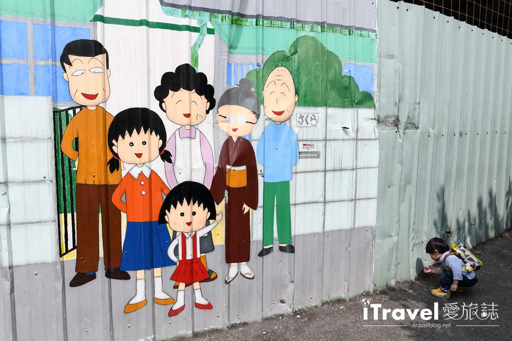 台中景點推薦 動漫彩繪巷 (18)