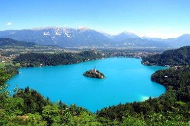Λίμνη Bled, Σλοβενία -iTravelling