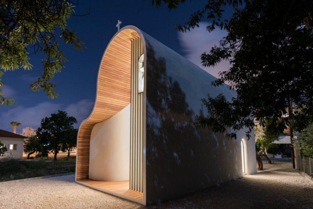Η πιο φουτουριστική εκκλησία στον κόσμο βρίσκεται στην Κύπρο - iTravelling