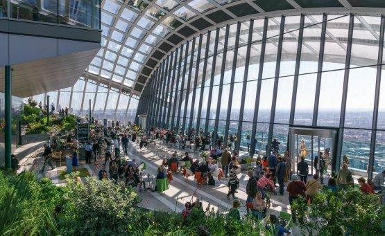 Sky Garden: Ένας μαγικός κήπος στον ουρανό του Λονδίνου - iTravelling