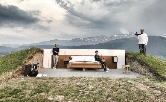 Null Stern: Ξενοδοχείο χωρίς τοίχους για διαμονή στις Άλπεις - iTravelling
