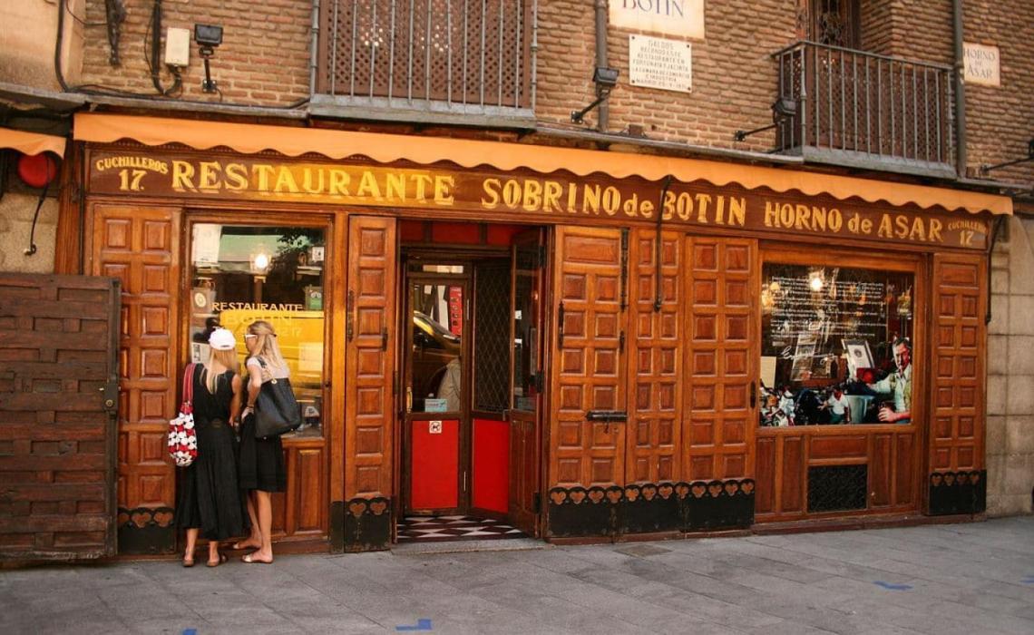 Sobrino de Botin: Το παλαιότερο εστιατόριο στον κόσμο - iTravelling