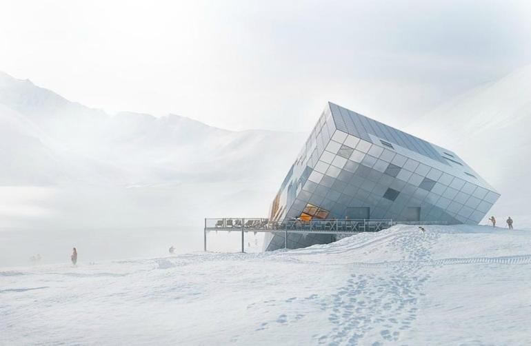 Kezmarska Hut: Ο κύβος που γίνεται χειμερινό καταφύγιο - itravelling.gr