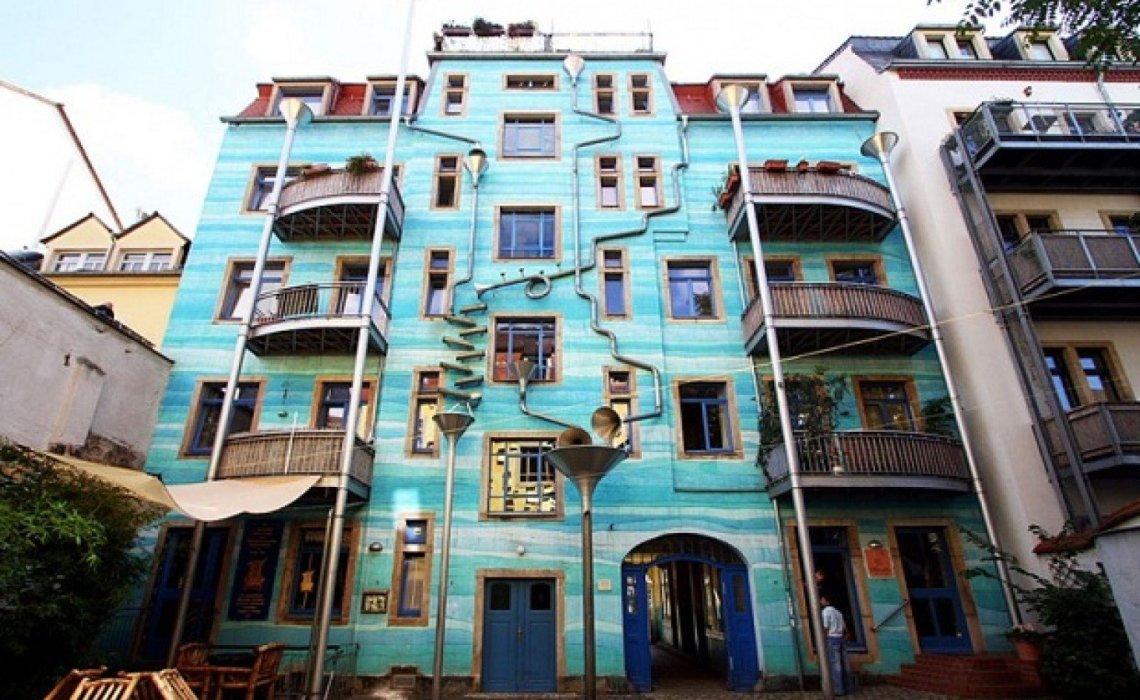 Funnel Wall: Η πολυκατοικία που παίζει μουσική με τη βροχή! - itravelling.gr