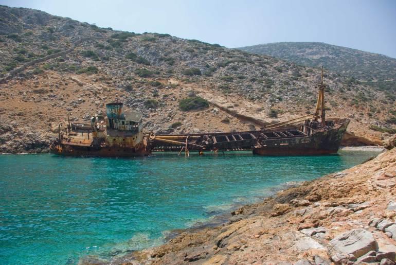 Το iTravelling.gr εξερευνά το ναυάγιο στην Αμοργό! - itravelling.gr