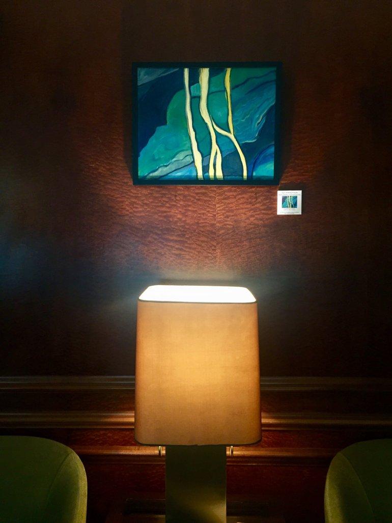 Στο Explorer's Bar του NJV Athens Plaza τα έργα της Μάχης Δημητρίου-Πολυμεροπούλου - itravelling.gr