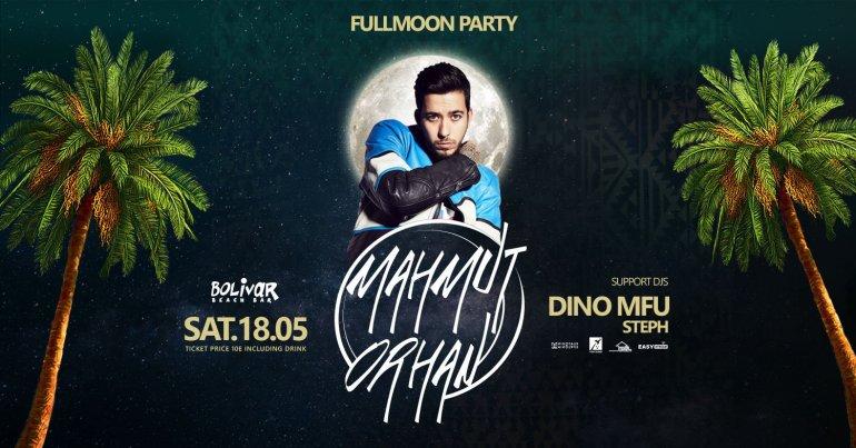 Bolivar Beach Bar: Full Moon Party με τον Mahmut Orhan - itravelling.gr