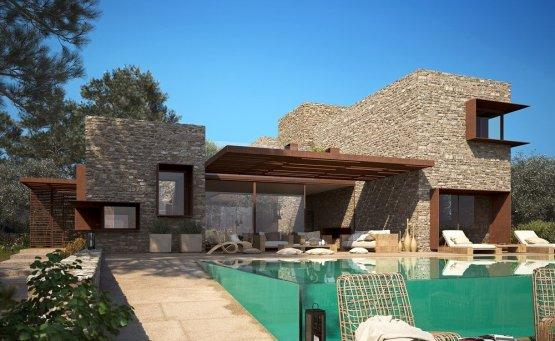 Τρεις νέες βίλες στη Costa Navarino από την Potiropoulos + Partners - itravelling.gr