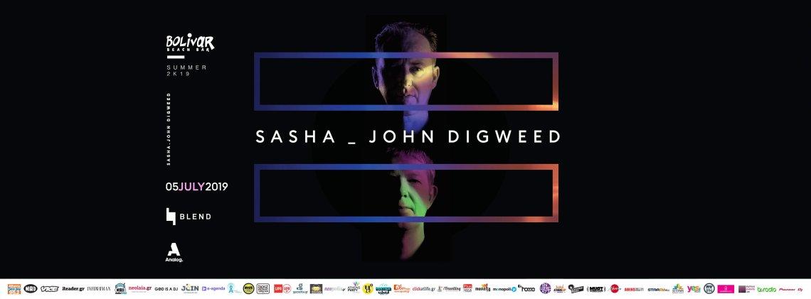Sasha & John Digweed: Ένα δυνατό δίδυμο της dance electronica στο Bolivar - itravelling.gr
