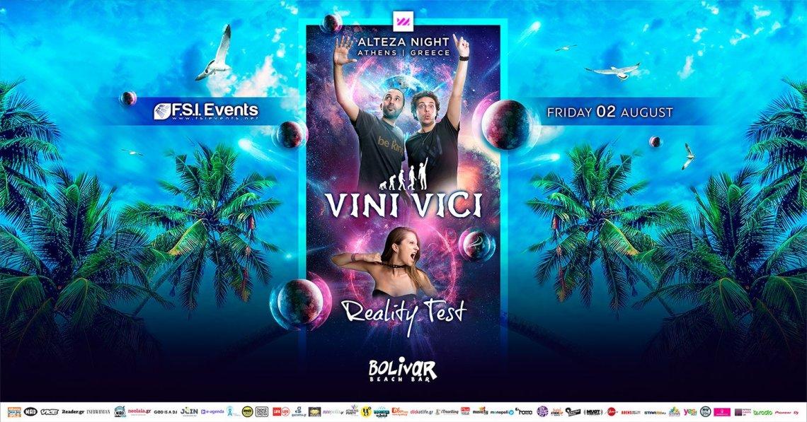 Οι Vini Vici έρχονται για μια Psy Trance βραδιά στο Bolivar Beach Bar - itravelling.gr