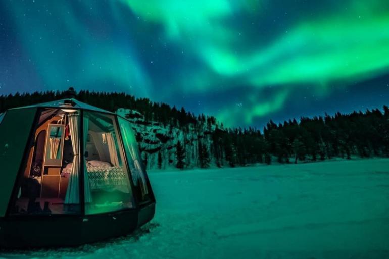 North Pole Igloo Hotel: Διαμονή κάτω από το Βόρειο Σέλας - itravelling.gr
