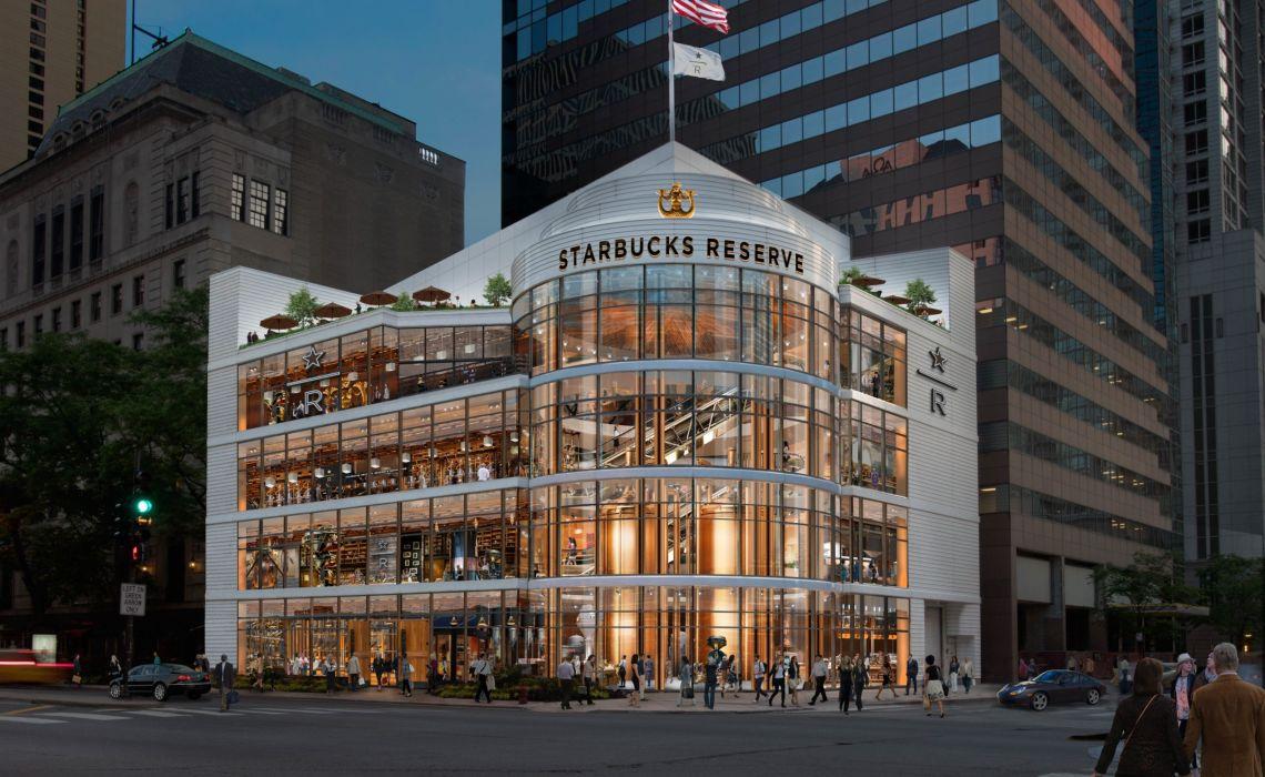 Ένα Starbucks – παλάτι «ξεφυτρώνει» στο Σικάγο - itravelling,gr