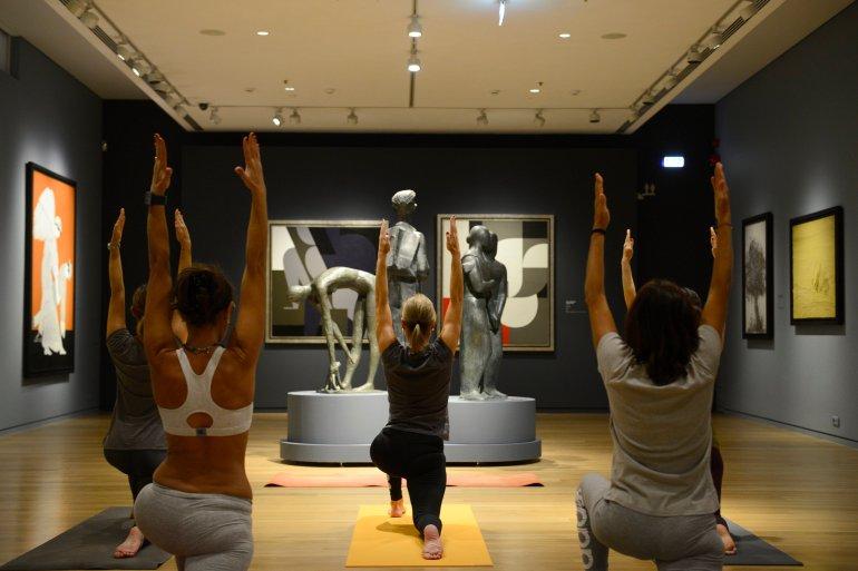 Πάμε για yoga στο Ίδρυμα Β&Ε Γουλανδρή - itravelling.gr