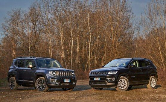 Προ των πυλών τα νέα Jeep Renegade 4xe και Compass 4xe