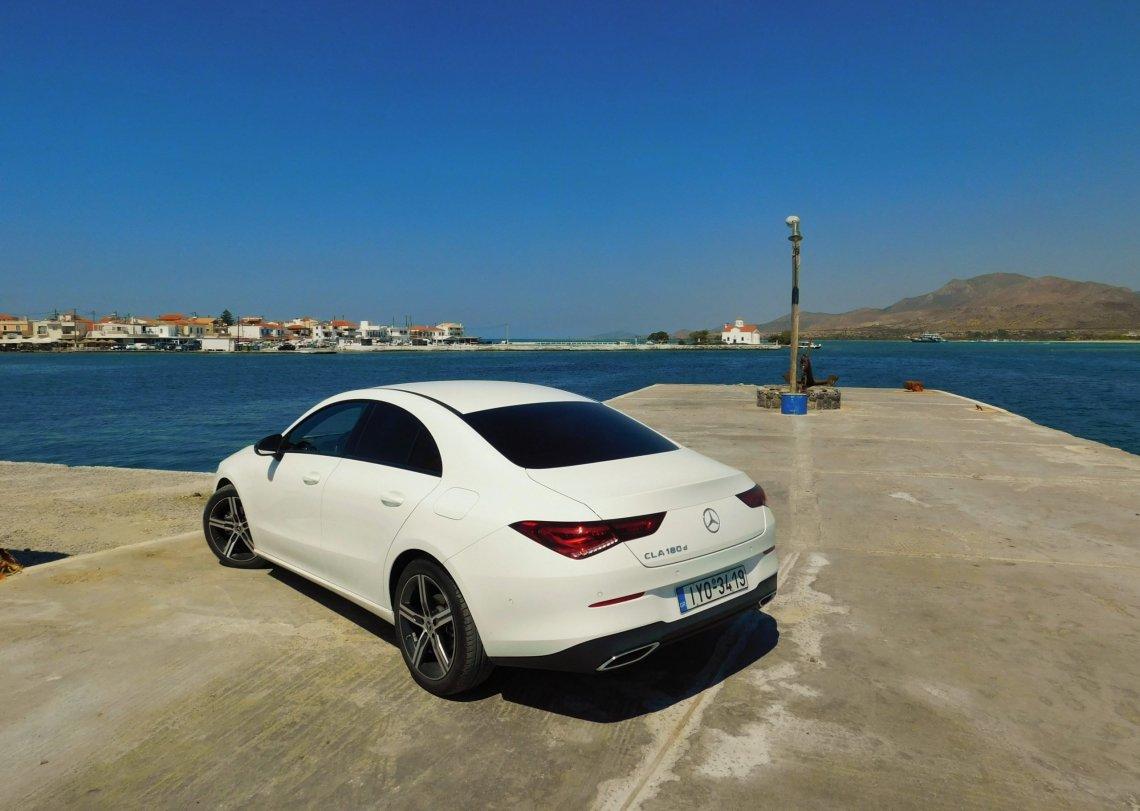 On the Road || Στην Ελαφόνησο με τη νέα Mercedes-Benz CLA 180d!
