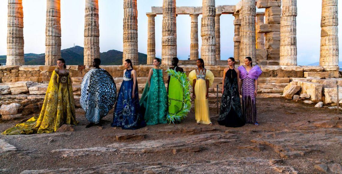 7 ιστορικά μνημεία που δανείστηκε η μόδα πριν τον Dior στο Καλλιμάρμαρο - itravelling.gr
