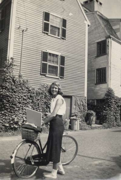 Sylvia-Plath-standing-beside-her-bicycle-Marblehead-Massachusetts-1951