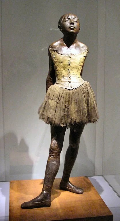The Little Dancer Aged Fourteen - Edgar Degas sculpture