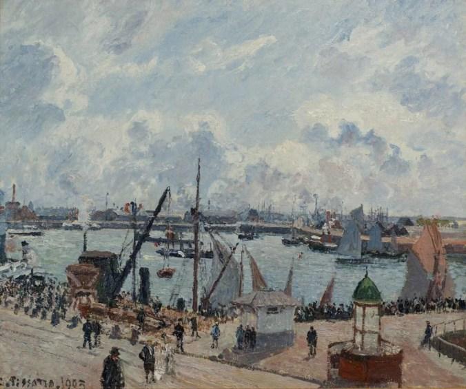 Le Havre Normandie - Camille Pissarro famous landscape