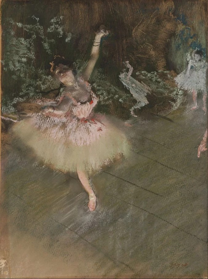 Ballet Dancer - Degas painting