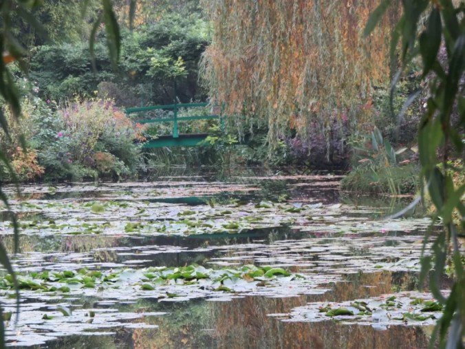 The water-lily pond in Monet's garden at Giverny