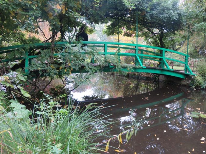 Monet's garden and famous pont in Giverny - the Japanese bridge